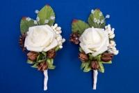 Шоколадные бутоньерки для свидетелей,сватов №19