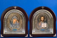 Венчальная пара икон №31