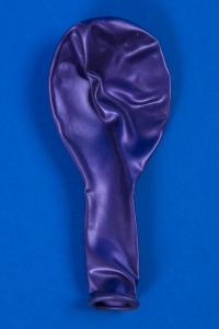 Воздушный фиолетовый круглый шарик №22