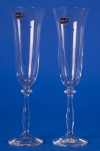 Свадебные прозрачные бокалы №99