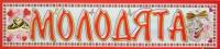 """Наклейка на номера """"молодята"""" №33"""