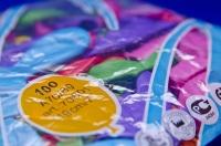 Воздушные разноцветные шарики-пастельные