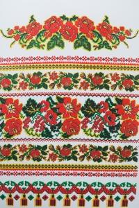 Свадебный рушник с орнаментом