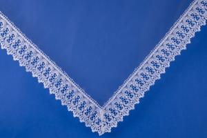 Белый платок для невесты №15