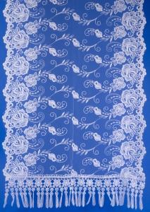 Белый шарф для венчания №2