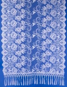 Ажурный шарф для венчания №3