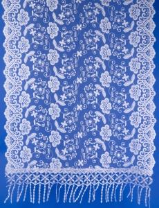 Ажурный шарф для венчания №5