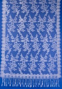 Блестящий белый шарф для венчания №6