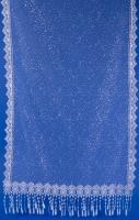 Нежный шарф для венчания с блеском №10
