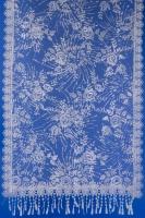Бежевый шарф с блеском для невесты №16