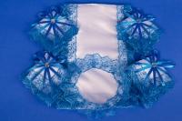 Синий венчальный набор №3