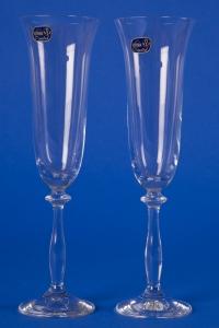 Свадебные прозрачные бокалы №9