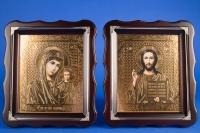 Венчальные иконы с багетом №3
