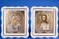 Иконы венчальные белые №8