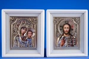 Свадебные иконы в золоте №26