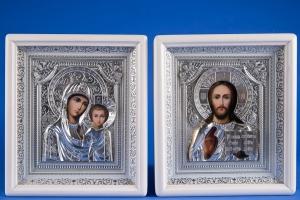 Свадебные иконы в серебре №25