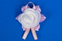 Розовые бутоньерки для гостей №14