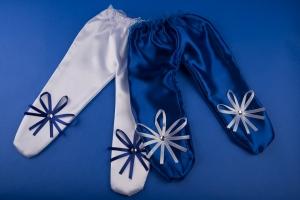 Ползунки на синюю свадьбу №6
