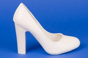 Туфли невесты с узором