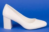 Свадебные удобные туфли с узором